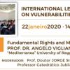 Viglianisi Ferraro guest professor, lezioni internazionali all'Università di Coimbra (