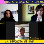 La Calabria e il paradosso sanitario - intervista a Emira Chimenti di www e Mena Zappia