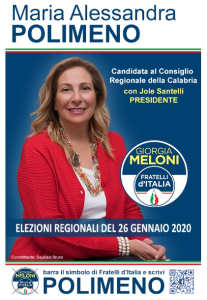 Sandra Polimeno Regionali 2020