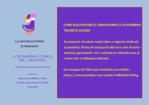 Coronavirus consigli 4